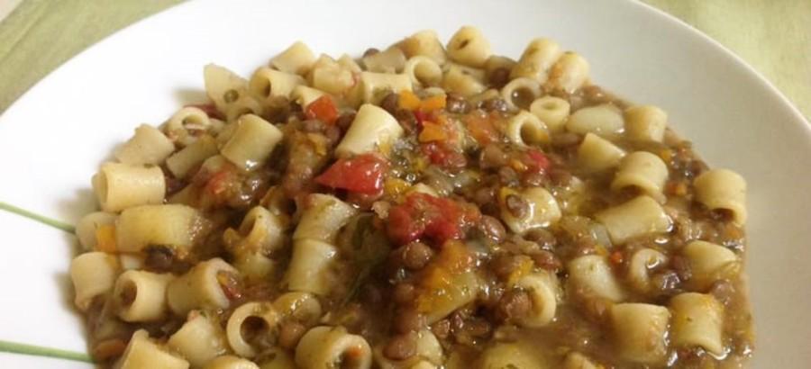 Pasta con le lenticchie di Castelluccio di Norcia IGP